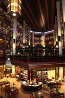 Thomas Fisher Rare Book Library Interior