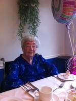Alice Moulton 100th Birthday