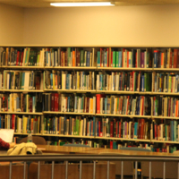 Stacks and Study Area at the Engineering and Computer Science Library