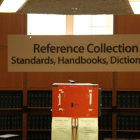 Reference Collection at the Engineering and Computer Science Library