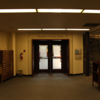 Entrance to the Gerstein Reading Room