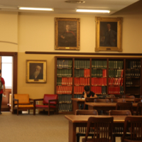 Quiet Study Space in Gerstein Library