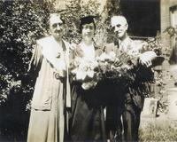 Alice Moulton at her graduation