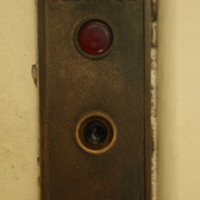 Antique Elevator Control Panel