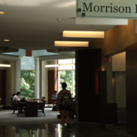 Entrance to Morrison Pavilion