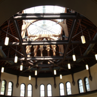 Open Skylight in the Heritage Reading Room