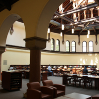 Heritage Reading Room in Gerstein Library