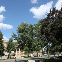 South-East Corner of Convocation Hall