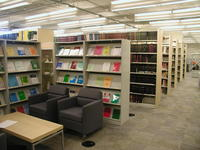 Mathematical Sciences Library - Stacks and Reading Space