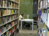 Mathematical Sciences Library - Stacks and Study Space