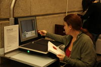 Book Scanner at Robarts Library