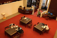 Reference and Reading Room at Robarts Library