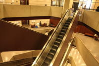 Escalators in Robarts Library