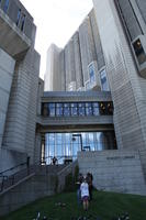 Exterior View of Robarts and Thomas Fisher Libraries