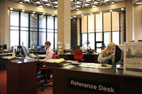 Robarts Library reference desk