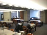 9th floor study room, Robarts Library