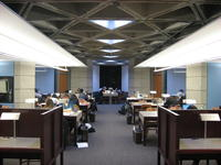 9th floor study room, Robarts Library