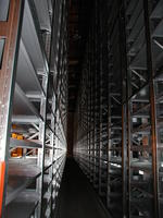 Downsview Campus Storage Facility storage shelves
