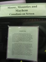 Moose, Mounties and Mayhem - Canadians on Screen exhibition