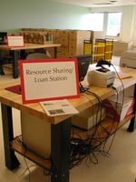 Downsview Campus Storage Facility loan station