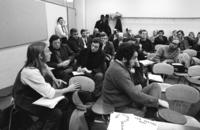 "Commission on University Government - Student sit-in and ""Parity Festival"""