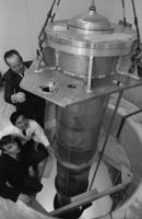 Department of Physics - installation of radiation chamber for Slowpoke