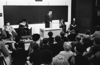 School of Library Science - Official opening of building, reception and convocation of the first Masters of Library Scie...