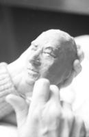 Sculptress  Dora de Pedery Hunt and Dr. J. Tuzo Wilson