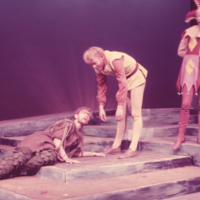 Hart House Theatre - Scene from The Tempest staged by Hart House Theatre, March 2 -9 1957