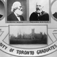 Banner for The University of Toronto Graduates in Arts, 1895