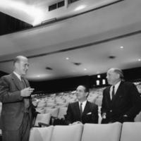 Boyd Neel, Ettore Mazzoleni and Arnold Walter