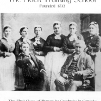 """[First class of Nurses to graduate in Canada] - """"The Mack Training School"""""""