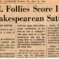 """UC Follies Score in Shakespearean Satire"""