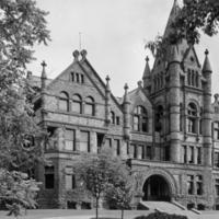 Victoria College, front elevation