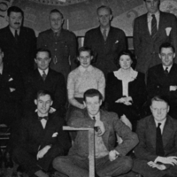 4th and 5th Year Architect Students, 1942