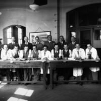 5th Year Architect Students, 1937
