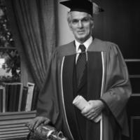 Bora Laskin, OISE Honorary Degree recipient, May 1975