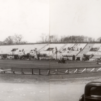 Varsity Stadium Construction, 1950