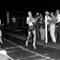 British Empire Games Trials, Aug 4 1962: Bruce Kidd wins 6 mile