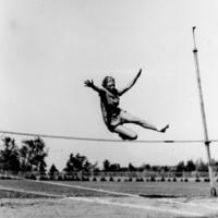 Woman highjumper