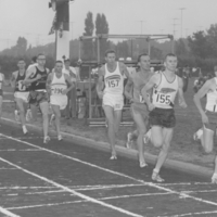 British Empire Games Trials at East York, Aug 4 -6, 1962: Mile Final