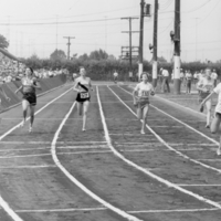 British Empire Games Trials at East York, Aug 4 - 6, 1962: Probably Women's 220 Yrds