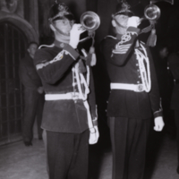 Buglers at C.O.T.C. Ball