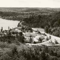 Ontario Forest Ranger School, view from tower, Dorset Ontario