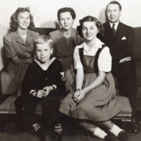 Cassidy Family - Harry, Bea and three children