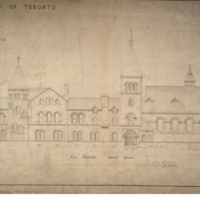 University of Toronto [University College] - Drawing No.17 East Wing