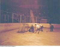 Exhibition Hockey Game, Varsity vs Michigan