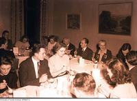 Varsity newspaper staff banquet at Hart House