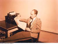 Don Moir, Editor-in-chief, the Varsity 1947-48