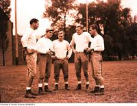 Members of the Varsity Blues Football Team, 1948-1949